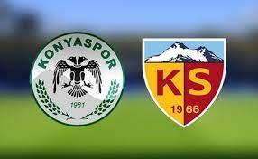 CANLI YAYIN - Konyaspor Kayserispor Canlı maç izle - şifresiz maç izle