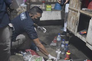 Satresnarkoba Polres Lumajang Berhasil Ungkap  Produsen Sabu di Lumajang