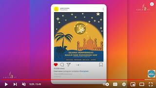template video selamat maulid nabi 2021  ppt gratis  - kanalmu