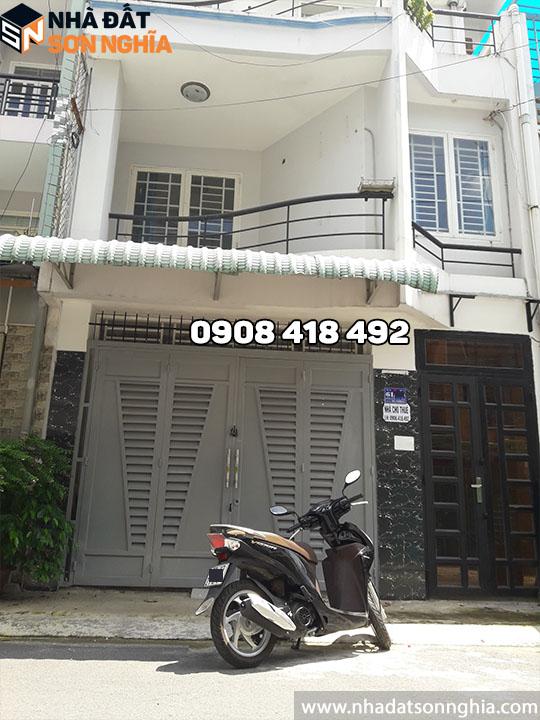 Thuê nhà nguyên căn quận Gò Vấp giá rẻ