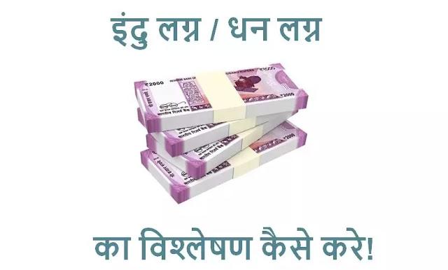 इंदु लगन  या  धन लग्न