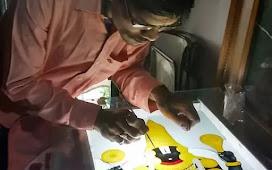 """राहुल लोहकरे यांना पुण्यातील आर्ट बिटस् महाराष्ट्र """"कला सन्मान"""" राज्यस्तरीय पुरस्कार जाहीर"""