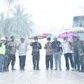 Bupati Inhil Pantau Pekerjaan Ruas Jalan Penghubung Kuala Saka - Teluk Lanjut - Sungai Guntung