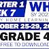 GRADE 4 Weekly Home Learning Plan (WHLP) Quarter 1: WEEK 7