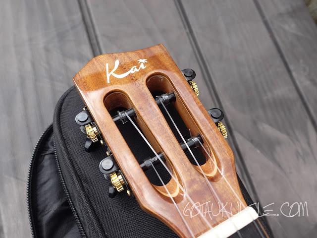 Kai KCI-5000 Concert Ukulele headstock
