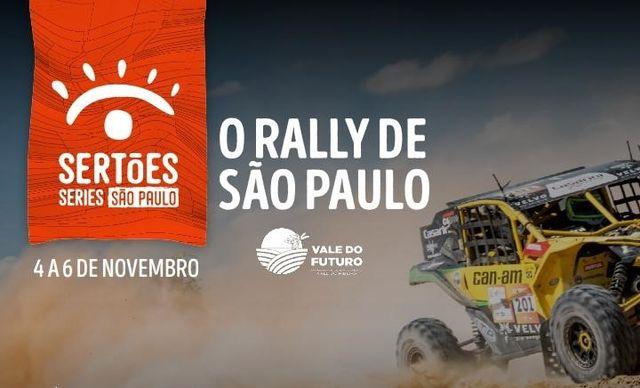 Ilha sediará, entre os dias 4 e 6/11, o Rally São Paulo-Vale Do Futuro- Etapa do Sertões