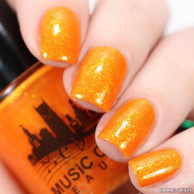 Music City Beauty-La La Orange