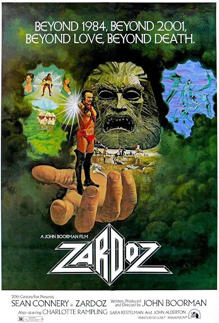 Póster original película Zardoz