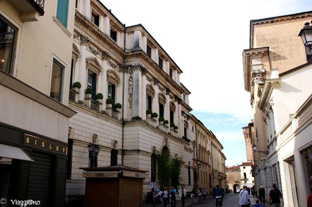 Corso Palladio arteria cittadina di Vicenza