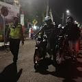 Patroli System Hunting, Satlantas Polres Lumajang Amankan Puluhan Sepeda Motor