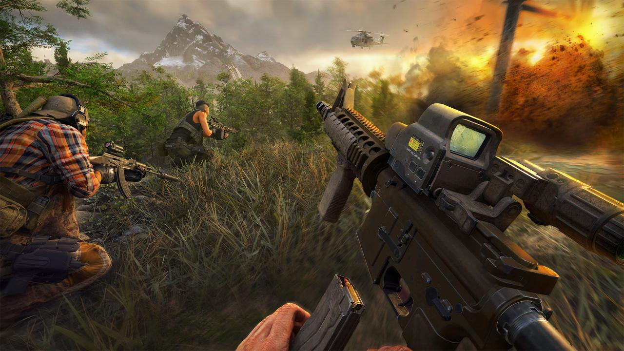 Ghost Recon Frontline is a Free-To-Play Battle Royale from Ubisoft