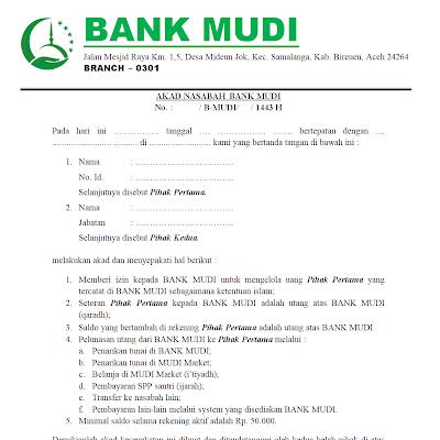 Bank MUDI Dalam Perspektif Fikih Syafi'iyyah