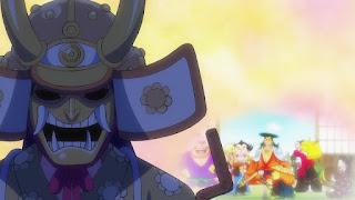 ワンピースアニメ 994話 泣けるシーン | 残雪の菊の丞 お菊 | ONE PIECE  Kikunojo Okiku