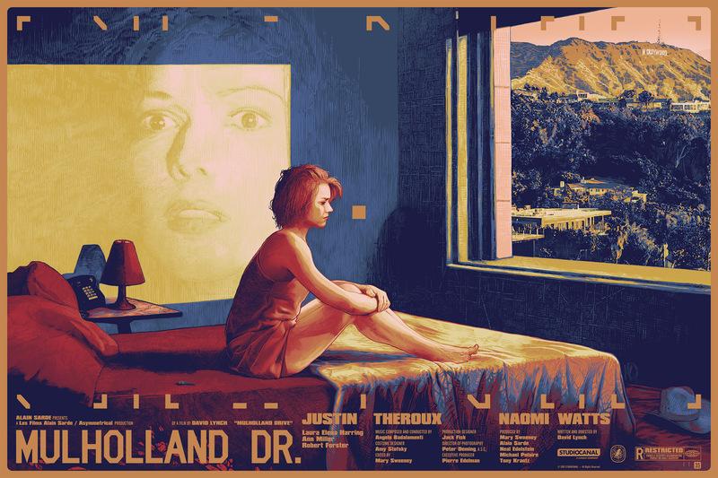 mulholland drive artwork