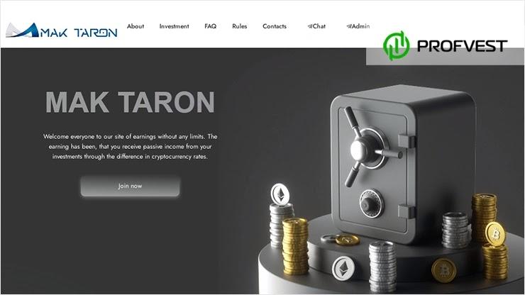 Mak-Taron обзор и отзывы проекта