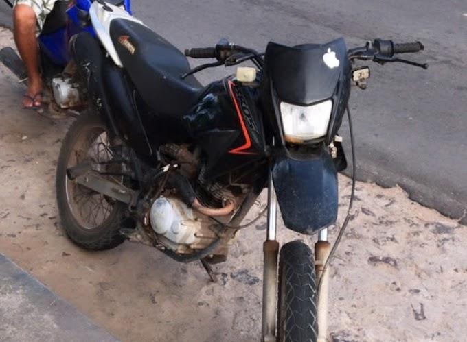 Ladrão rouba moto em São Bernardo, mas abandona veículo por falta de gasolina