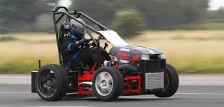 British engineer takes world's fastest lawnmower to 143.19 mph