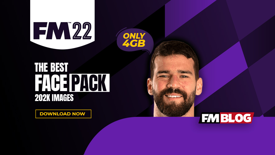 Football Manager 2022 Facepack | FM22 Player Faces