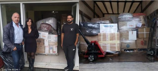 Αναχώρησε το φορτηγό με την βοήθεια προς τους σεισμοπαθείς της Κρήτης από το Δήμο Ναυπλιέων