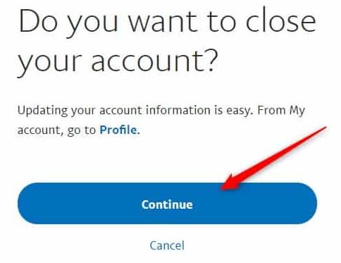 كيفية إغلاق وحذف حساب باي بال PayPal بشكل دائم