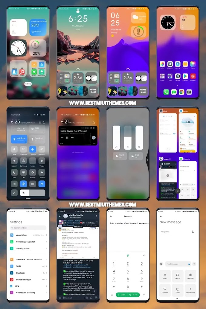 iphone Miui 12 Theme download || Best Miui 12 Themes Download || Xiaomi Themes