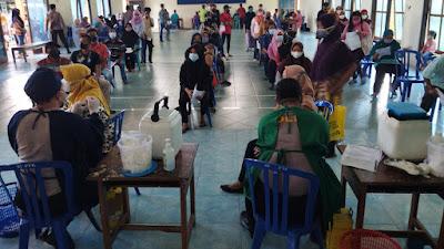 Polres Purworejo Kembali Gelar Vaksinasi di Pituruh Sebanyak Vaksin 1478 Orang