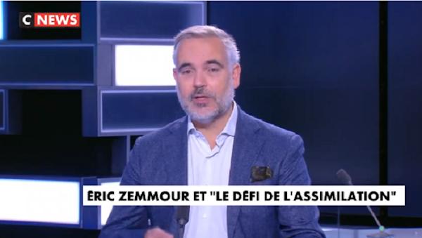 [VIDEO] L'ÉDITO DE GUILLAUME BIGOT : «ERIC ZEMMOUR ET LE DÉFI DE L'ASSIMILATION»