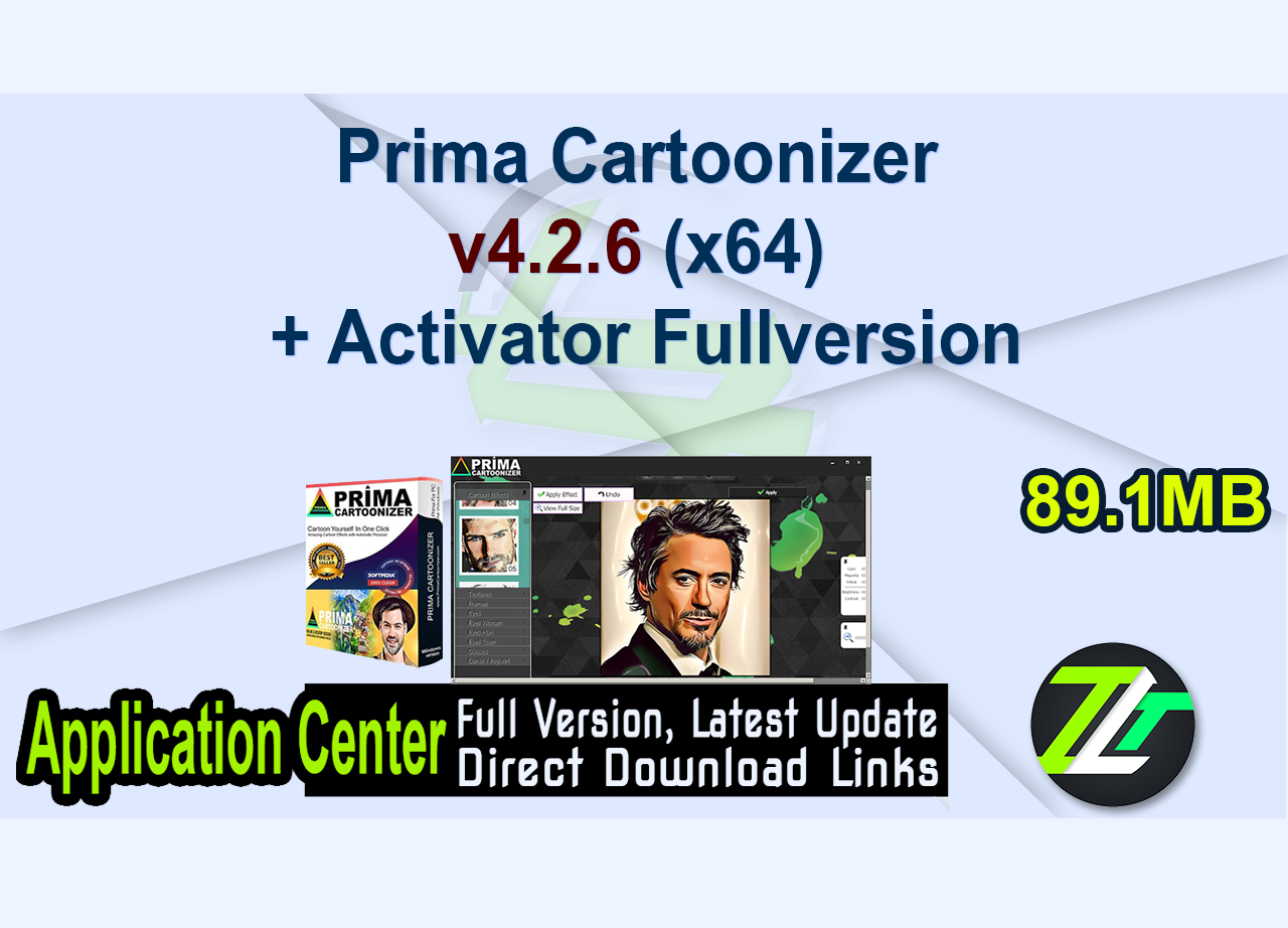 Prima Cartoonizer v4.2.6 (x64) + Activator Fullversion