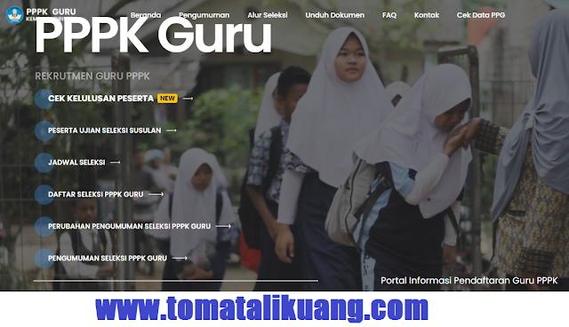 hasil seleksi pppk guru tahun 2021 tahap 1 kemdikbudristek tomatalikuang.com