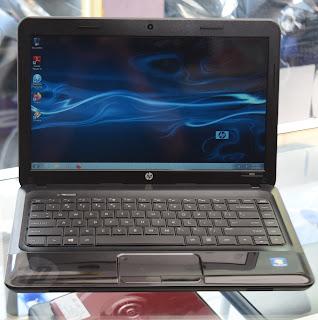 Jual Laptop HP 1000 AMD A4-3330MX Series Malang