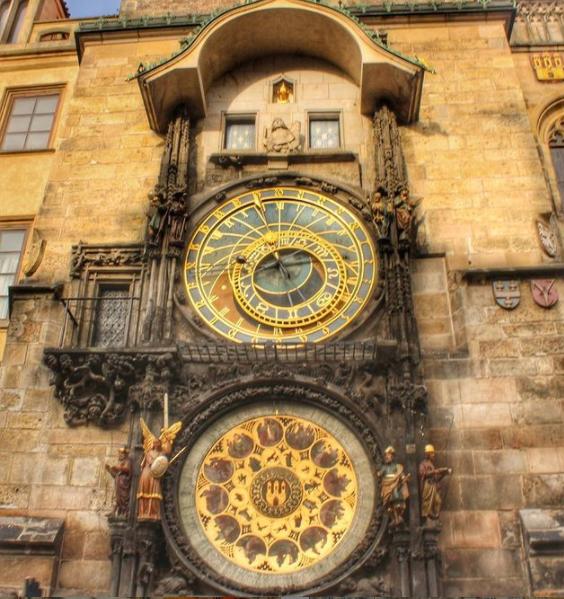 Astronomical Clock Prague Old City