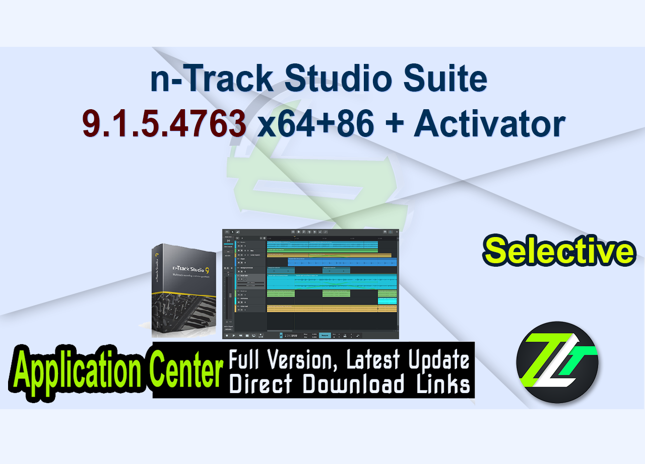 n-Track Studio Suite 9.1.5.4763 x64+86 + Activator