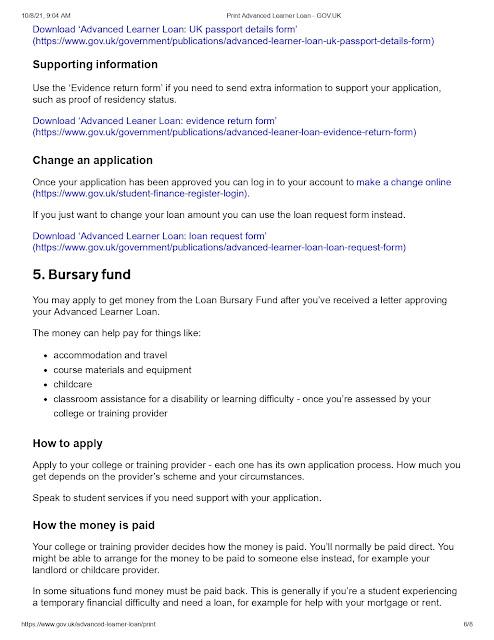 Loan Bursary Fund