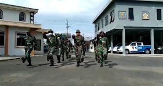 TNI AL Lanal Lampung Gelar Latihan Jelang Uji Trampil Glagaspur P1 dan P2