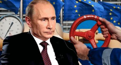 """Путин утверждает, что украинская газовая труба может """"лопнуть"""" в любой момент."""