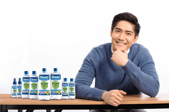 Robi Domingo for Shield+ Alcohol in his priorities in the new normal