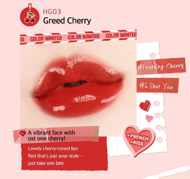 Màu HG03 Greed Cherry