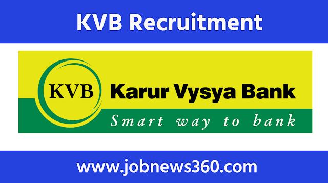 Karur Vysya Bank Recruitment 2021 for Business Development Associate
