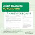 ANALISTA DE PCM