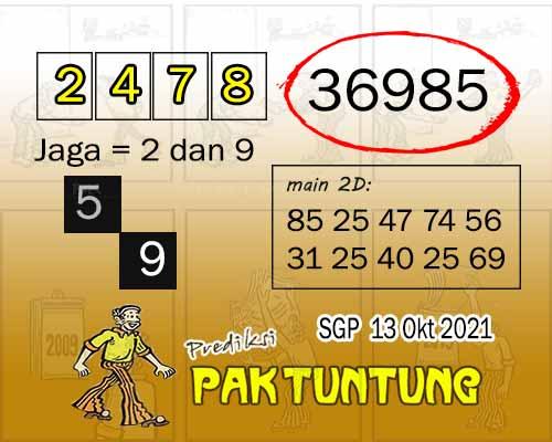 paktuntung SGP Rabu 13 Oktober 2021