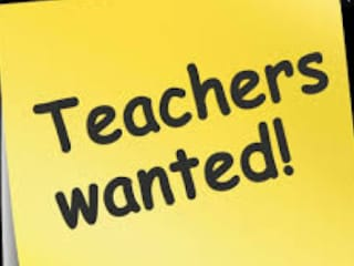 WANTED TEACHERS : PGT TGT PRIMARY B.T ASSISTANT ELECTRICIAN