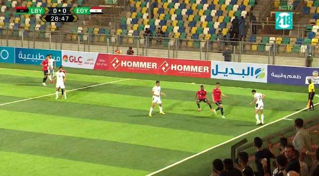 الشوط الأول ... متابعة مباراة ليبيا ضد مصر  بث مباشر الأن في كاس العالم 2022