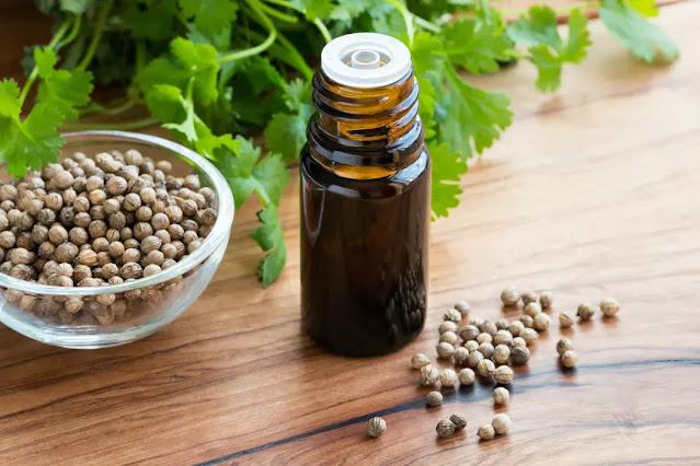The essential oil of coriander