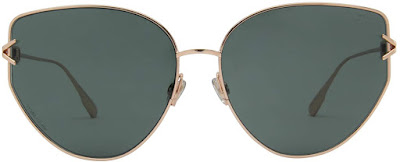 Oversized Dior Cat Eye Sunglasses