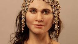 Mô phỏng gương mặt của một người phụ nữ sống cách đây 15.000 năm