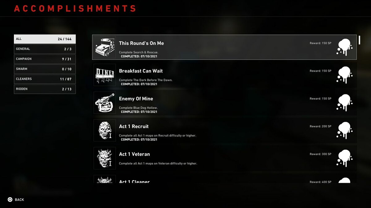 How to get skins by completing achievements