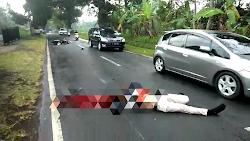 Luka Parah Dibagian Kepala, Seorang Pengendara Sepeda Motor Meninggal Dunia Akibat Kecelakaan