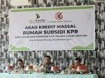 Bank Sulselbar Parepare dan PT Kelapa Gading Berlian Gelar Akad Kredit Massal Rumah Subsidi Perumahan Zakiah Pinrang