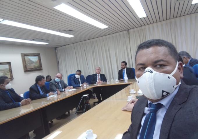 Miguel Calmon: Vereador Nanado do Brejo Grande esteve em Brasília a procura de melhorias para o município