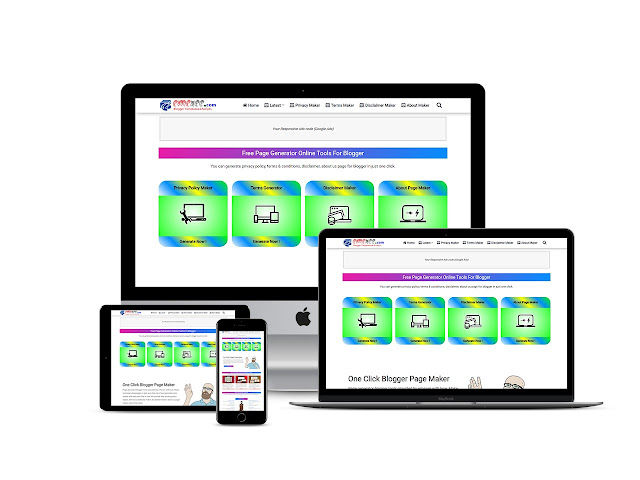 Advance Blog Page Generator Blogger Tool Script